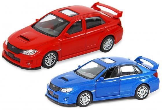 Автомобиль Hoffmann Subaru WRX STI 1:43 цвет в ассортименте