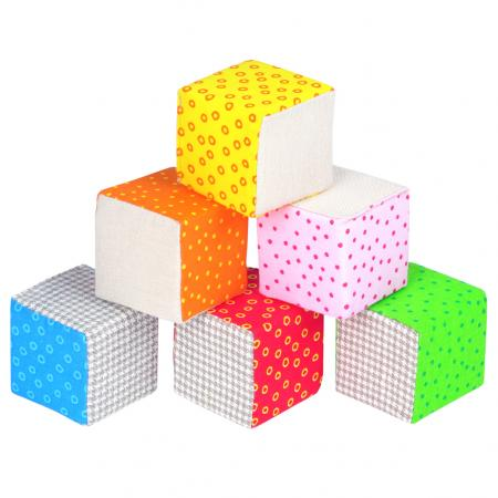 Кубики МЯКИШИ Эко Кубики 6 шт кубики djeco кубики пирамида машины
