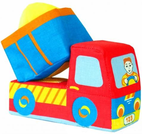 Развивающая игрушка МЯКИШИ Машинка-грузовичок» игрушка книжка мякиши кошки мышки