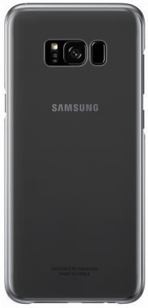 Чехол Samsung EF-QG950CBEGRU для Samsung Galaxy S8 Clear Cover черный/прозрачный чехол для сотового телефона samsung galaxy s8 clear cover gold ef qg950cfegru