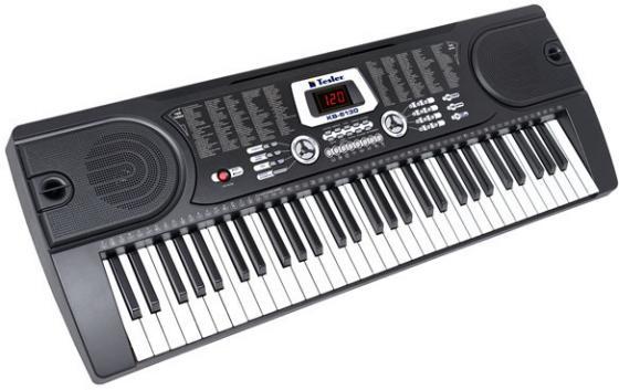 Синтезатор Tesler KB-6130 61 клавиша USB черный синтезатор yamaha kb 90 61