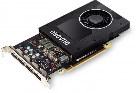 Видеокарта PNY Quadro P2000 VCQP2000BLK-1 PCI-E 5120Mb GDDR5 160 Bit OEM видеокарта pny quadro nvs 300 520mhz pci e 512mb 1580mhz 64 bit