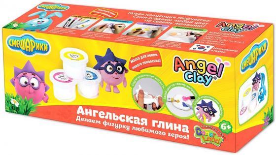 Масса для лепки Angel Clay Смешарики, Ежик мини AA03031SB всё для лепки angel clay масса для лепки teddy bear