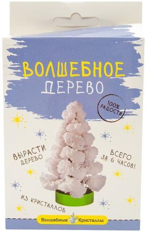 Набор для выращивания Волшебные кристаллы Елочка белая CD-121W бумбарам волшебные кристаллы синяя елочка