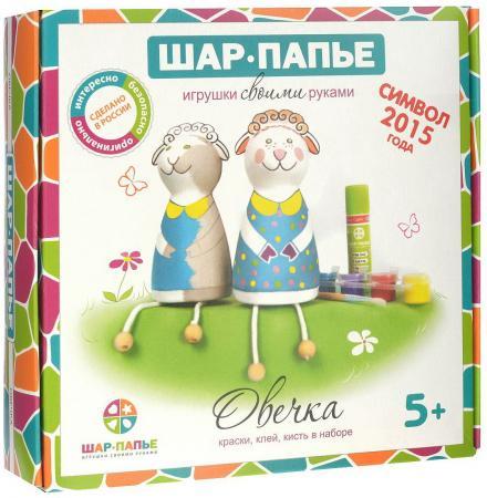 Набор для творчества ШАР-ПАПЬЕ Овечка от 5 лет набор д детского творчества шар набор шар папье медвежонок
