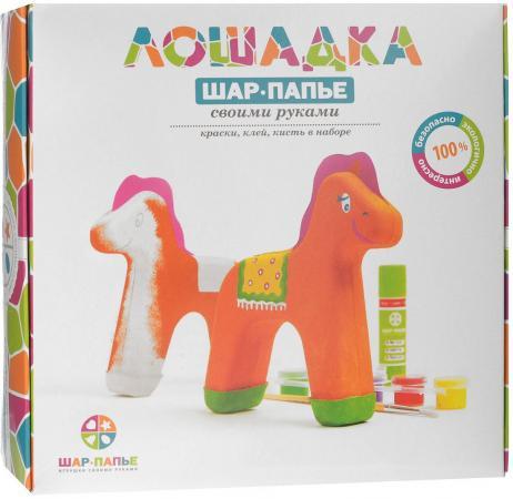 Набор для творчества ШАР-ПАПЬЕ Лошадка от 3 лет шар папье шар папье набор для творчества обезьянки