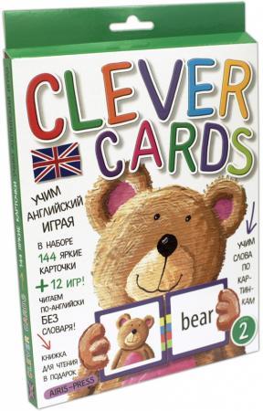 Набор карточек АЙРИС-пресс Умные карточки айрис пресс игры с прищепками раскраски и головоломки