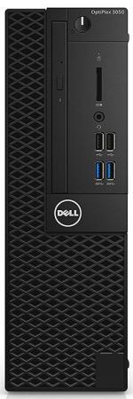цена на Системный блок DELL OptiPlex 3050 SFF i5-7500 3.4GHz 8Gb 256Gb SSD HD630 DVD-RW Win10Pro клавиатура мышь черный 3050-8251