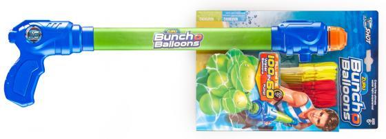 Игровой набор Bunch O Balloons ZURU с оружием-насосом, 100 шаров Z5636 игровой набор bunch o balloons zuru с оружием насосом 100 шаров z5636