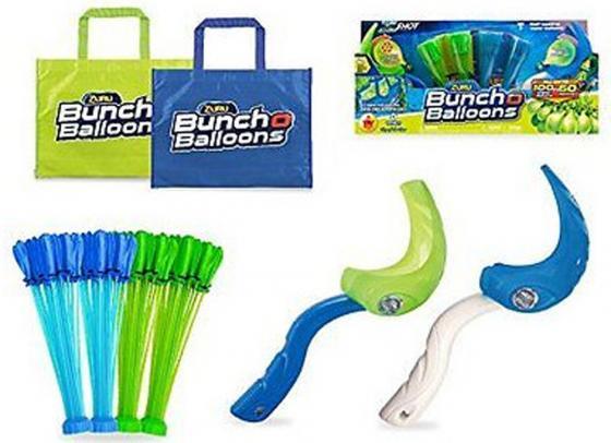 Игровой набор Bunch O Balloons ZURU Супернабор на двух игроков из 140 шаров с двумя пусковыми устройствами и двумя сумками Z1222