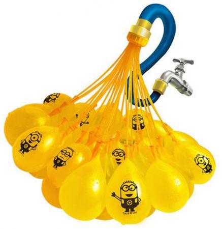 Игровой набор Bunch O Balloons ZURU Стартовый набор Миньоны из 100 шаров Z5653 игровой набор bunch o balloons zuru с оружием насосом 100 шаров z5636