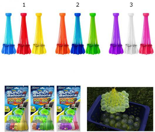 Игровой набор Bunch O Balloons ZURU Стартовый набор из 100 шаров, в асс-те Z1213 стартовый пакет киевстар
