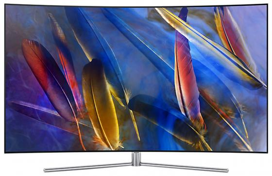 Телевизор LED 65 Samsung QE65Q7CAMUX серебристый 3840x2160 Wi-Fi Smart TV RS-232C samsung rs 552 nruasl