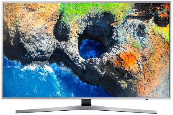Телевизор LED 40 Samsung UE40MU6400UX серебристый 3840x2160 200 Гц Wi-Fi Smart TV RJ-45 Bluetooth кратон smart wi 200