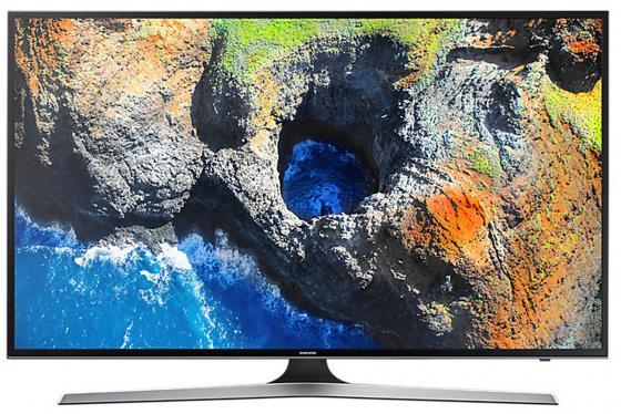 Телевизор LED 40 Samsung UE40MU6100UX черный 3840x2160 100 Гц Wi-Fi Smart TV RJ-45 телевизор samsung 48 ue48j5200au led full hd smart tv cmr 100 черный
