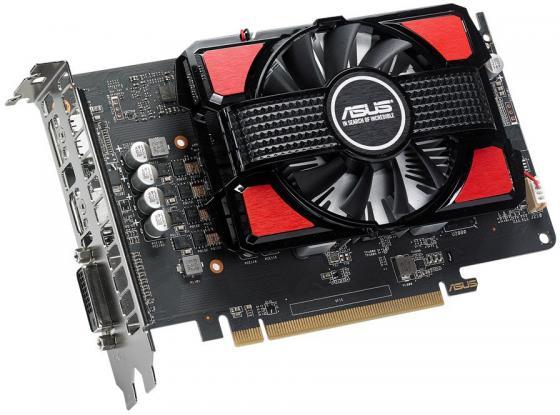 Видеокарта 2048Mb ASUS RX 550 PCI-E DVI HDMI DP RX550-2G Retail asus radeon rx 460 1200mhz pci e 3 0 4096mb 7000mhz 128bit dvi hdmi dp hdcp strix rx460 4g gaming
