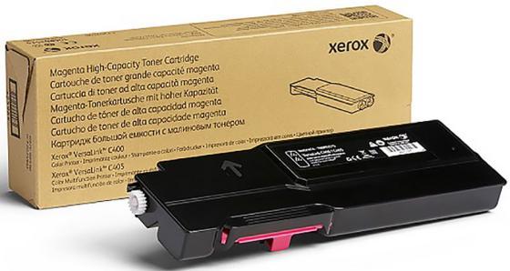 Фото - Картридж Xerox 106R03510 для VersaLink C400/C405 пурпурный 2500стр картридж xerox 106r03937 для versalink c605 пурпурный 16800стр