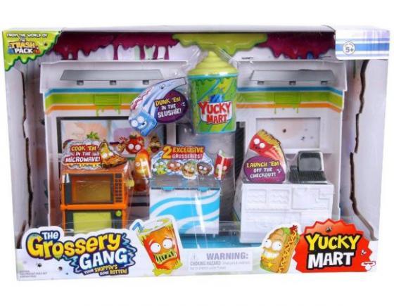 Набор фигурок Grossery Gang Супермаркет с 2 фигурками 69007 grossery gang набор фигурок пакет чипсов 10 шт