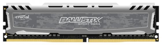 Оперативная память 8Gb PC4-21300 2666MHz DDR4 DIMM Crucial BLS8G4D26BFSBK оперативная память crucial bls2cp4g3d1609ds1s00ceu