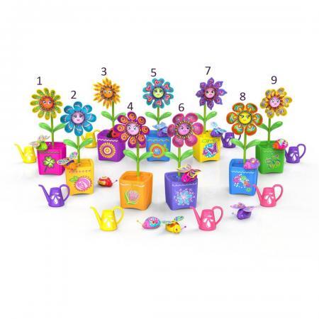 Интерактивная игрушка Silverlit Волшебный цветок с ожерельем и волшебным жучком от 5 лет в ассортименте