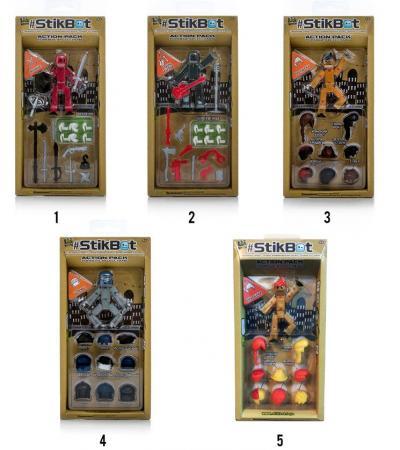 Купить Игровой набор STIKBOT ST620, унисекс, Игровые наборы для мальчиков