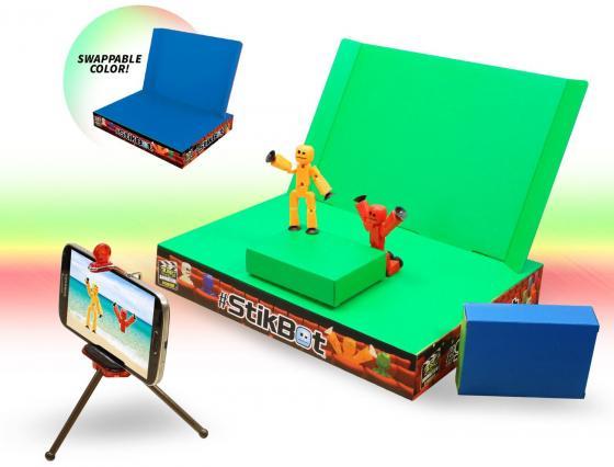 Игровой набор STIKBOT Анимационная студия со сценой TST617 игровой набор stikbot tst615a