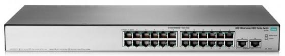 Коммутатор HP 1850 управляемый 24 порта 10/100/1000Mbps JL170A коммутатор hp 1850 управляемый 48 портов 10 100 1000mbps jl171a