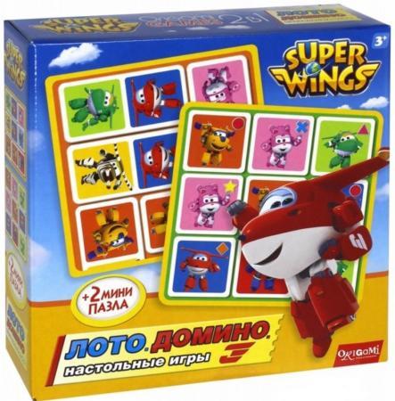 Настольная игра развивающая ОРИГАМИ Супер крылья - Лото. Домино