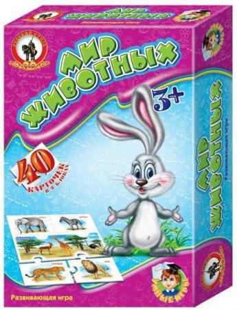 Настольная игра развивающая Русский Стиль Мир животных 03970 настольная игра развивающая русский стиль фотовикторина в мире животных 3434