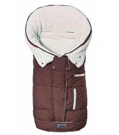 Зимний конверт Altabebe Clima Guard (AL2274C/brown-whitewash) altabebe altabebe конверт в коляску зимний nordic pram