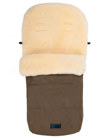 Зимний конверт Altabebe Lambskin Footmuff (MT2200-LP/brown 75) altabebe altabebe конверт в коляску зимний lambskin footmuff коричневый