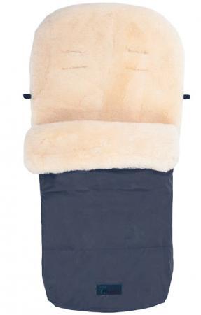 Зимний конверт Altabebe Lambskin Footmuff (MT2200-LP/navy blue 62) конверт детский altabebe altabebe конверт в коляску зимний lambskin bugaboo footmuff черный