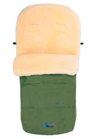 Зимний конверт Altabebe Lambskin Footmuff (MT2200-LP/olive 66) altabebe altabebe конверт в коляску зимний lambskin footmuff черный