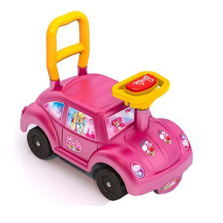 Каталка-машинка Нордпласт Барби пластик от 1 года на колесах розовый 431003 каталка машинка r toys bentley пластик от 1 года музыкальная красный 326