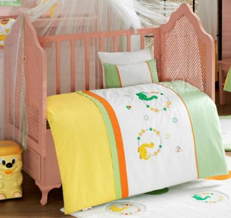 Комплект постельного белья 3 предмета KidBoo Baby Dinos kidboo my animals 3 предмета