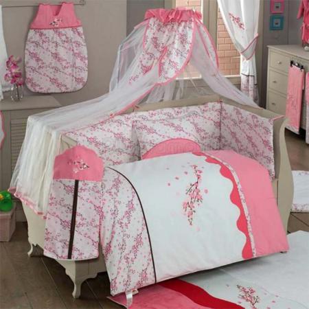 цена  Комплект постельного белья 3 предмета KidBoo Bello Fiore  онлайн в 2017 году