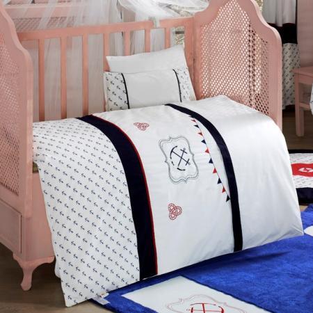 Комплект постельного белья 3 предмета KidBoo Blue Ocean kidboo my animals 3 предмета