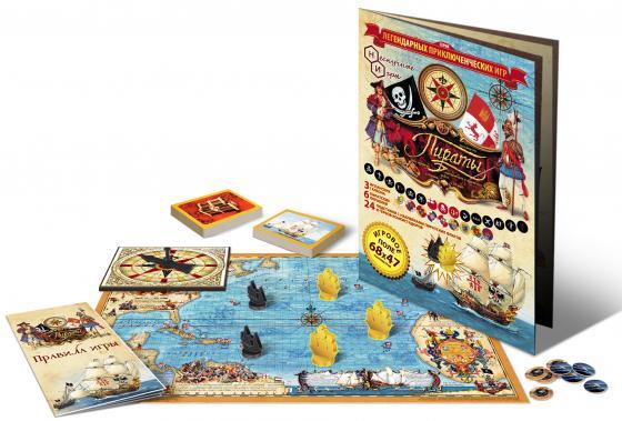 Настольная игра развивающая Нескучные игры Пираты