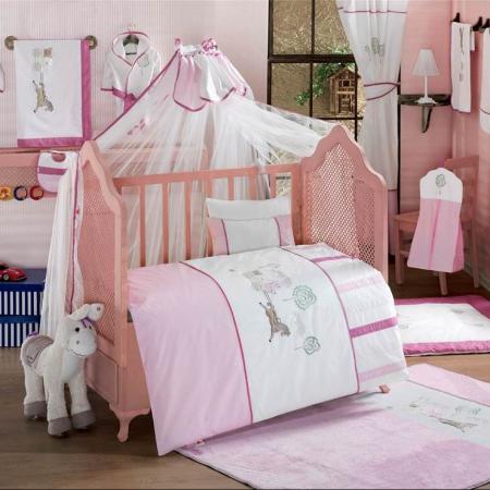 Постельный сет 6 предметов KidBoo Little Farmer (pink) kidboo little voyager