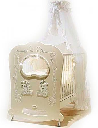 Постельный сет 5 предметов Feretti Majesty (avorio) декор kerlife palazzo avorio dec 20 1x50 5