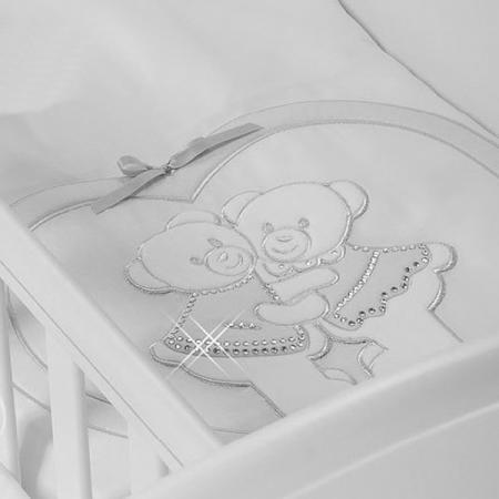 Фото Набор в люльку для близнецов Feretti Baby Beddings Culla Gemell (bianco)