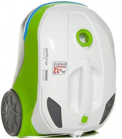 Пылесос Thomas Perfect Air Feel Fresh x3 сухая уборка белый зелёный thomas perfect air feel fresh x3