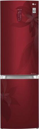 Холодильник LG GA-B499TGRF красный холодильник lg ga b499ymqz silver