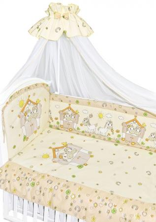 Комплект постельного белья Золотой Гусь Лошадки (бежевый) комплект постельного белья золотой гусь лапушка бежевый желтый 2223