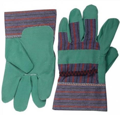 Перчатки Stayer Master рабочие искусственная кожа зеленый XL 1132-XL цены онлайн