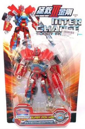Робот-трансформер Shantou Gepai Inter Change 10085 able star трансформер inter change цвет желтый