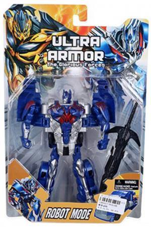 Робот-трансформер Shantou Gepai Ultra Armor - Робот-трейлер  81619B робот трансформер shantou gepai 668 1