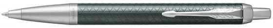 Шариковая ручка автоматическая Parker IM Premium K323 Green CT синий M 1931643 шариковая ручка автоматическая parker vector standard k01 blue green ct синий m 2025751