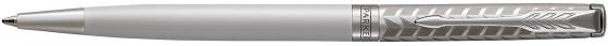 Шариковая ручка поворотная Parker Sonnet Premium Slim K440 Metal&Pearl PGT CT черный M 1931551 шариковая ручка поворотная parker sonnet premium k531 masculine brown pgt черный m 1931483