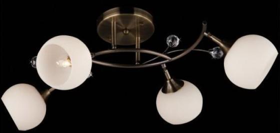Потолочная люстра Eurosvet 9604/4 античная бронза eurosvet светильник спот eurosvet 9604 4 античная бронза